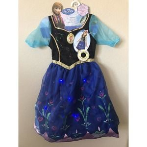 Disney Frozen Princess Anna Musical Light Up Dress